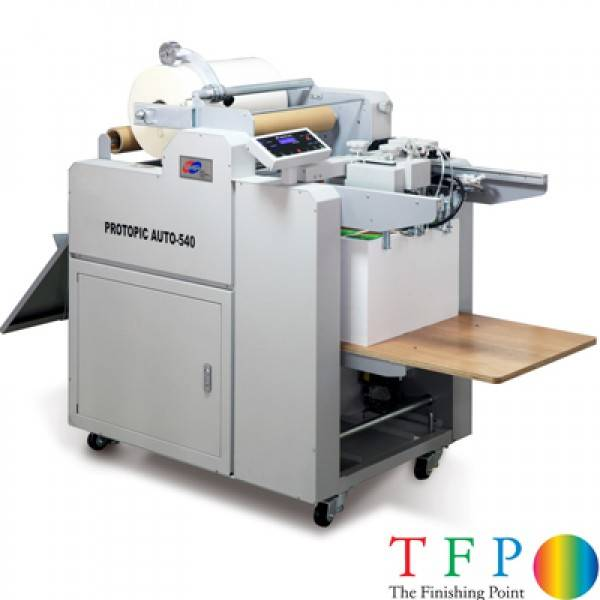 GMP Pro-Topic Auto 540 Digital Laminating Machines (Pneumatic B2)