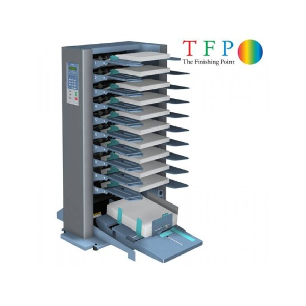 Duplo DFC100 Collator (Friction Feed - 10 Station)