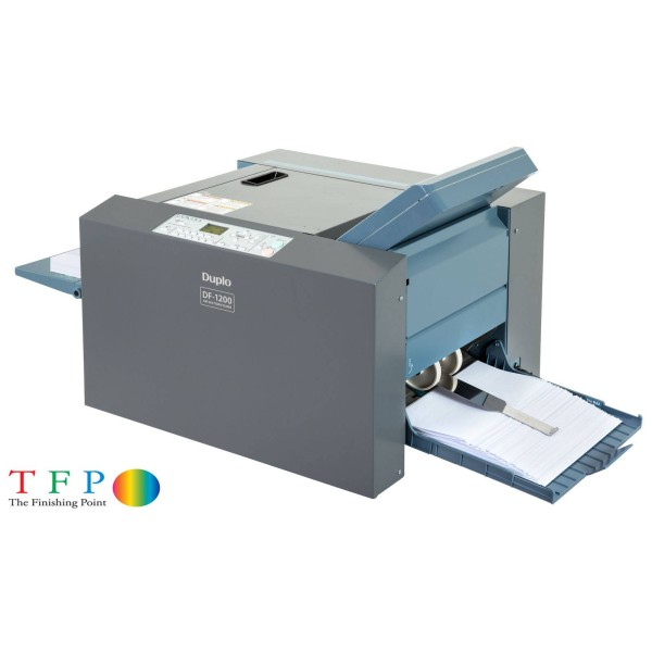 Duplo DF1200 Paper Folding Machine (Suction Feed)