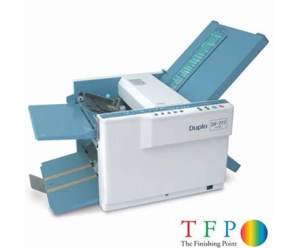folding machine paper