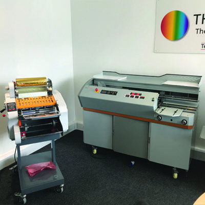 The Finishing Point Showroom Demo Machines